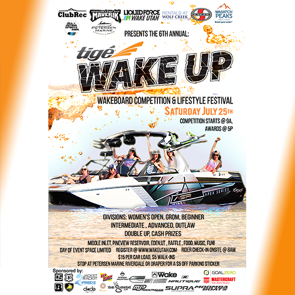 Tige Wake Up wakeboard Competition and Lifestyle Festival 600px X 600px (7.02)